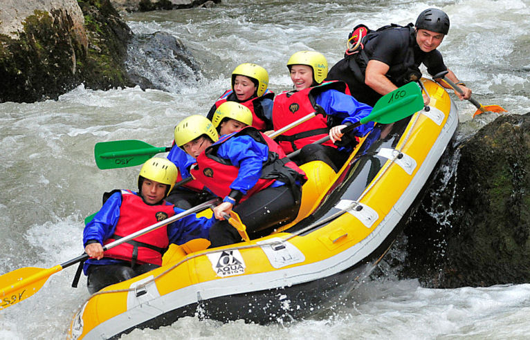 Rafting in the Pyrenees