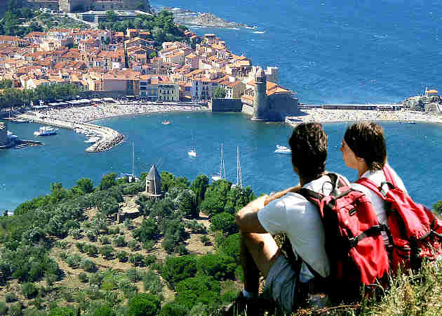 Walking Holidays Collioure to Cadaques