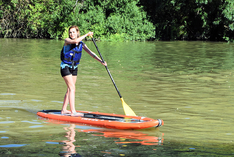 Stand up Paddle in the Pyrenees