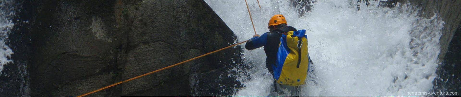 Canyoning in the Pyrenees - Southern France